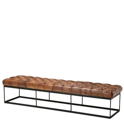 Eichholtz Faux Leather Bench