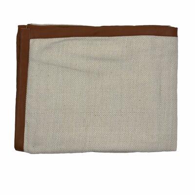 Ann Gish Basketweave Silk Throw