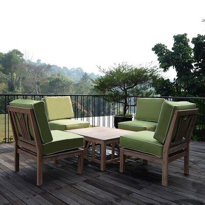 Teak Sofa Seating Group Cushions