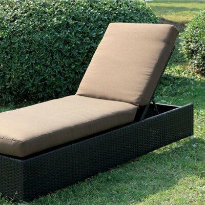 Latitude Bendoski Contemporary Patio Chaise Lounge Cushion Product Image