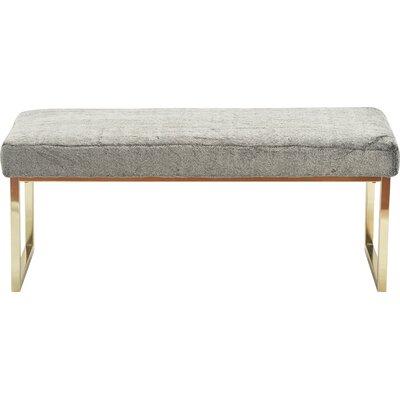 Elle Decor Chic Upholstered Bench
