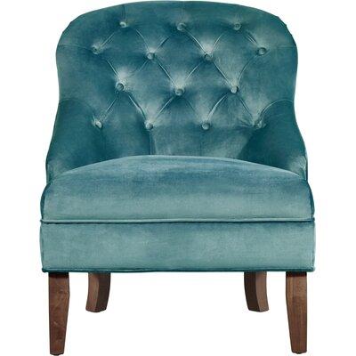 Elle Decor Tufted Armchair Chair Upholstery Teal