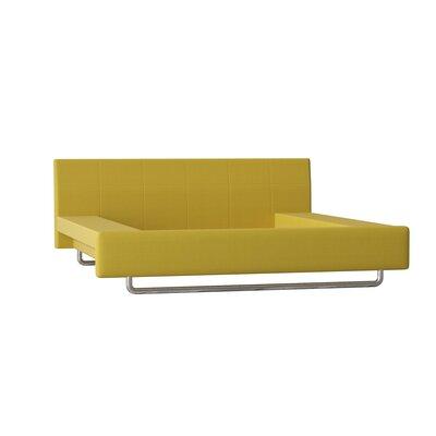 Truemodern Platform Bed Twin Body Fabric Wheatgrass