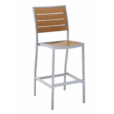Florida Seating Bar Stool Frame Silver
