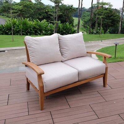 Birch Lane Heritage Teak Loveseat Cushions