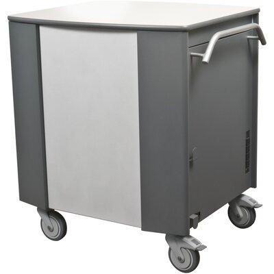 Mooreco Compartment Tablet Charging Cart