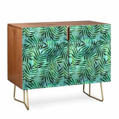 East Urban Home Brown Goddess Palm Emerald Sideboard
