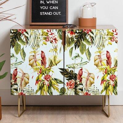 East Urban Home Botanical Jungle Bouquet Sideboard