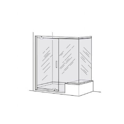 American Standard Pivot Frameless Door Panel % Return Panel