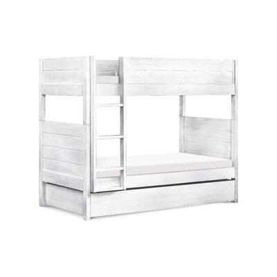 Davinci Storage Trundle Twin Bunk Bed Bed Frame Cottage White