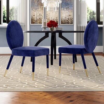 Mercer41 Upholstered Dining Chair Mercer Navy