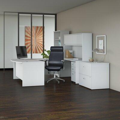 Bush Office Set Hutch White