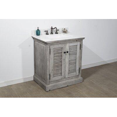 Bay Isle Home Edgecomb Single Bathroom Vanity Set