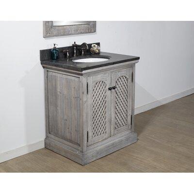 August Grove Single Bathroom Vanity Set Top Limestone