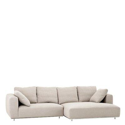Sofa Chaise Upholstery Panama Sand