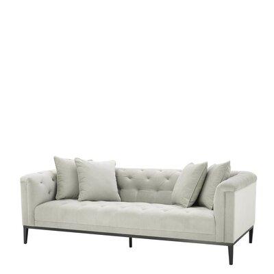 Settee Upholstery Pebble Gray