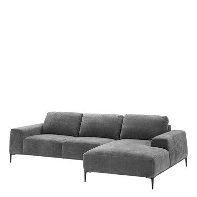 Lounge Settee Upholstery Gray