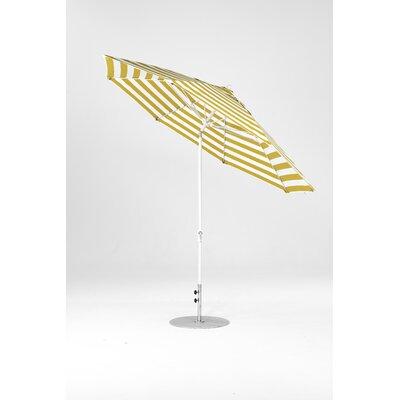 Frankford Umbrella Umbrella White Yellow White Stripe Acrylic