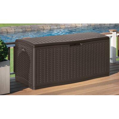 Suncast Resin Deck Box Molded Storage Boxes