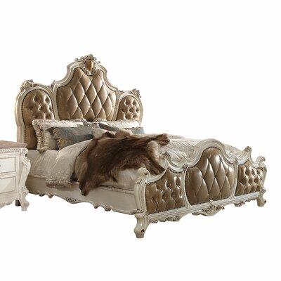 Fleur De Lis Living Upholstered Panel Bed