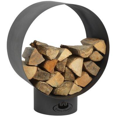 Esschert Design Round Wood Storage Log Rack