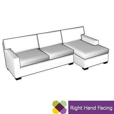 Allmodern Custom Upholstery Sectional Upholstery Sectional Right Hand Facing Body