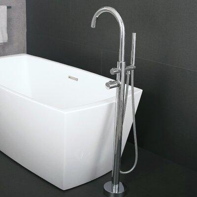 Dax Single Handle Floor Mounted Freestanding Tub Filler
