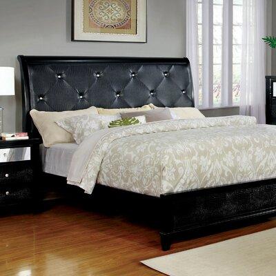 House Of Hampton Watley Upholstered Panel Bed