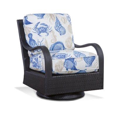 Braxton Culler Pointe Swivel Rocking Chair Cushions Fabric