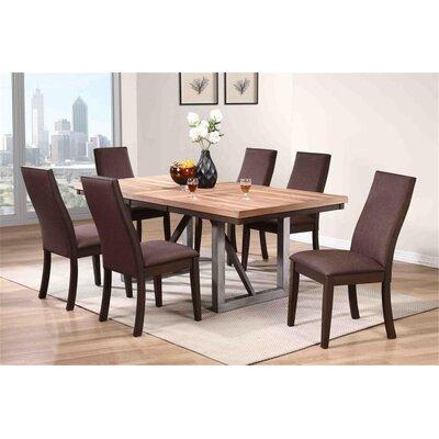 Union Rustic Tickenham Wood Dining Set