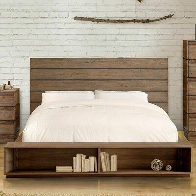 Union Rustic Storage Platform Bed Queen