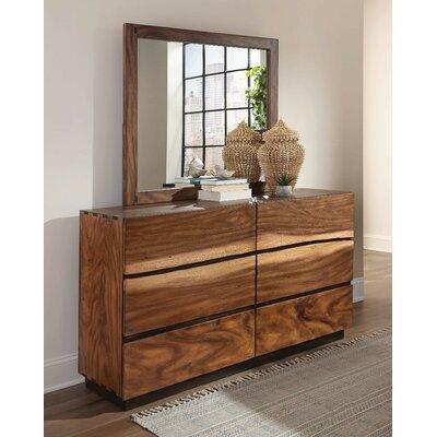 Loon Peak Drawer Dresser Mirror
