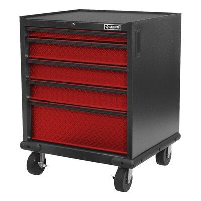 Gladiator Pre Modular Storage Cabinet Red