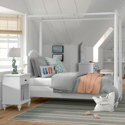 Beachcrest Home Canopy Bedroom Set