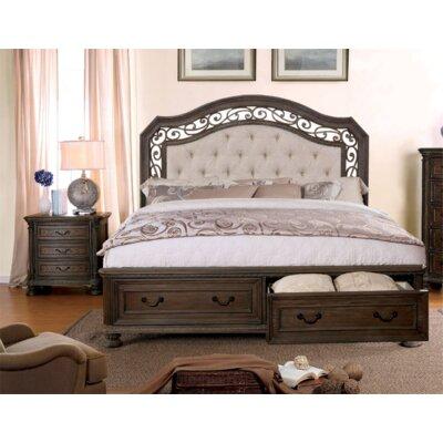 Fleur De Lis Living Simpson Upholstered Storage Panel Bed