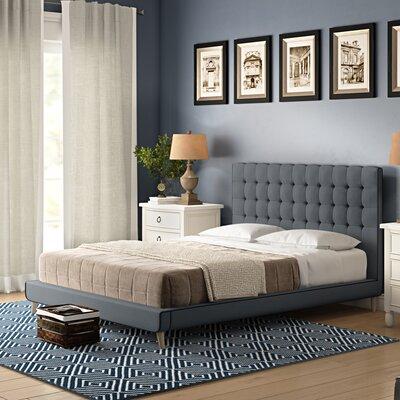 Wrought Studio Lonan Upholstered Panel Bed