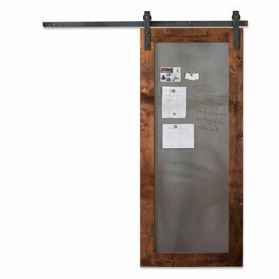Artisan Hardware Paneled Wood Metal Sliding Barn Door Hardware Kit