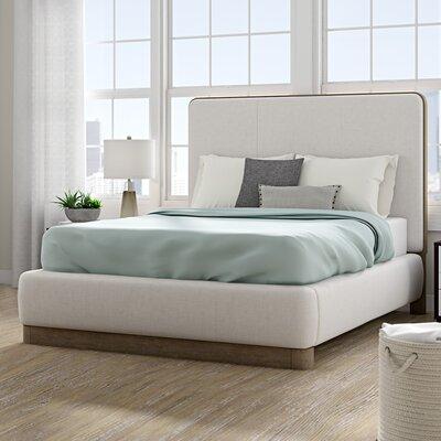 Wrought Studio Upholstered Platform Bed Queen