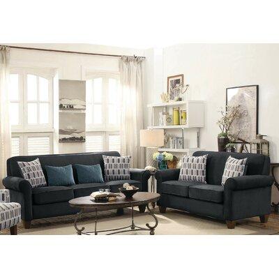 Alcott Hill Living Room Set Graphite
