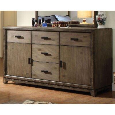 Union Rustic Drawer Combo Dresser