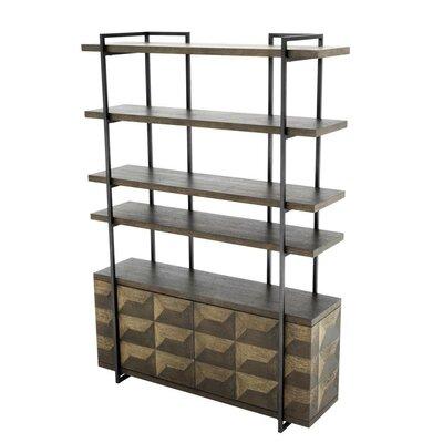 Modern Oak China Cabinet