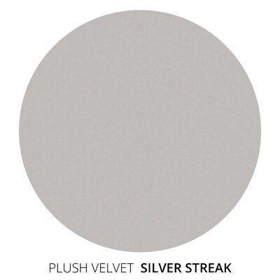 Corrigan Studio Sofa Upholstery Silver Streak Upholstery Velvet