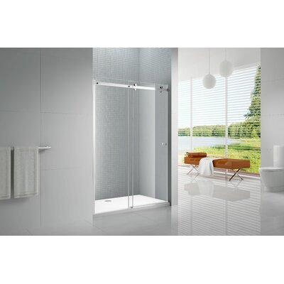 Amluxx Primo Sliding Frameless Shower Door Product Photo