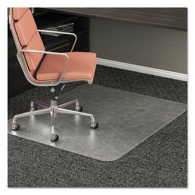 Deflecto Medium Carpet Beveled Edge Chair Mat Lip No