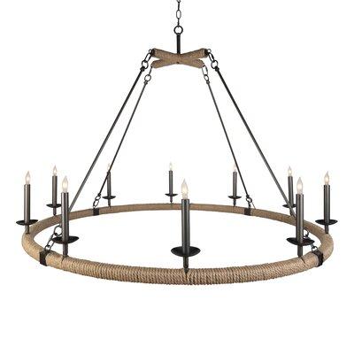 Aidan Gray Light Wagon Wheel Chandelier