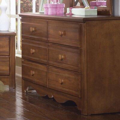 Carolina Works Drawer Double Dresser Carolina Works Inc