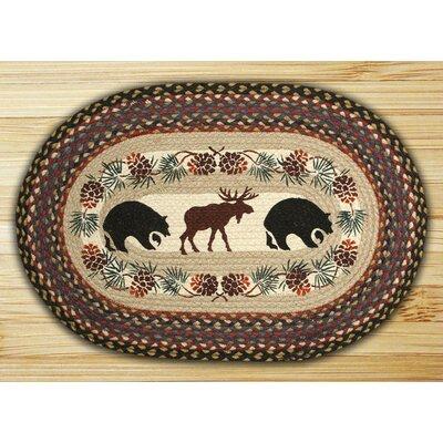 Bear Moose Rug