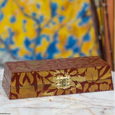 The Prasert Kunaphol Wood Jewelry Box 211825