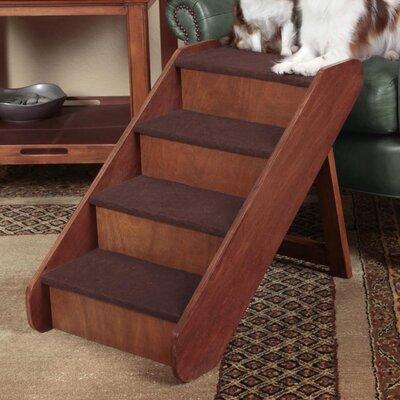 PupStep 4 Step 20'' Wood Pet Stairs