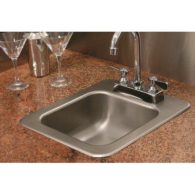 A Single Bowl Kitchen Sink